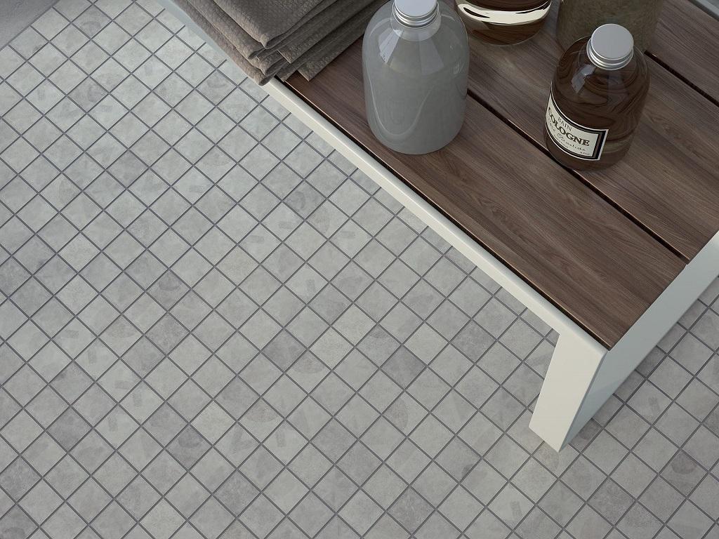 Cisa Ceramiche Cement Effect Tiles Bathhouse