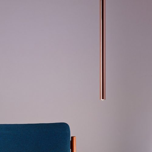 Decor Walther - Pipe 1 - Copper - Pendant Light