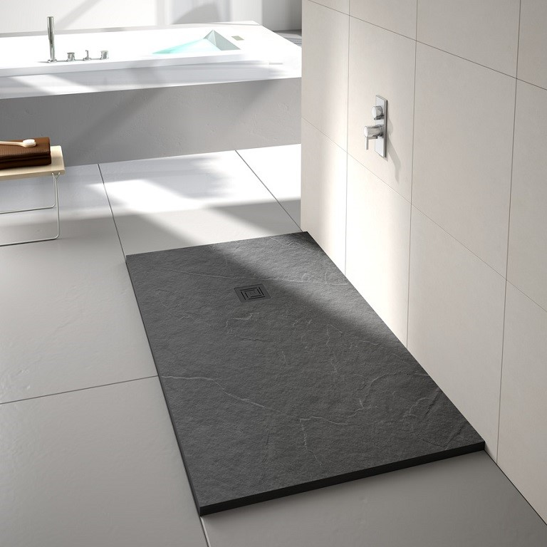 Merlyn Truestone Fossil Grey Shower Tray