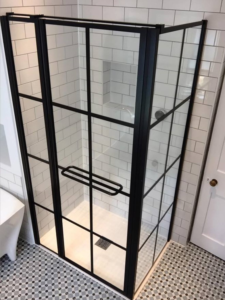 Drench Frame Pivot Door