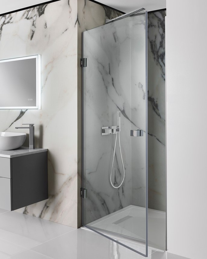 Zion Hinged Shower Door