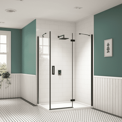 Merlyn Black Shower Enclosure
