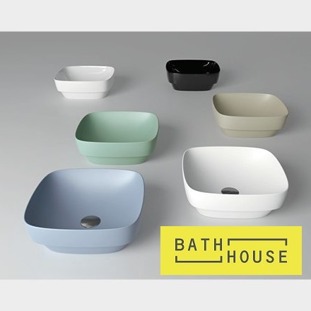 Bathrooms In Focus - Multi Colour Basins