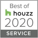 Houzz Best of Service Badge 2020